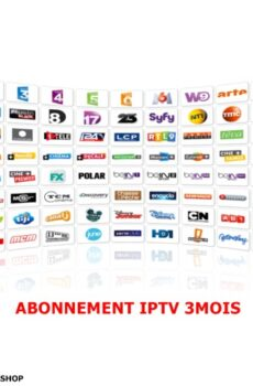 Abonnement IPTV - 3 Mois