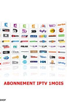 Abonnement IPTV - 1 mois